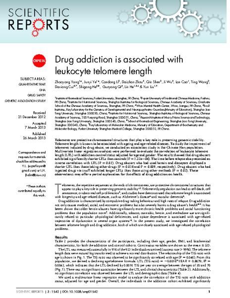Drug_addiction_LTL.Yun_Liu.Scientific_Reports_2013