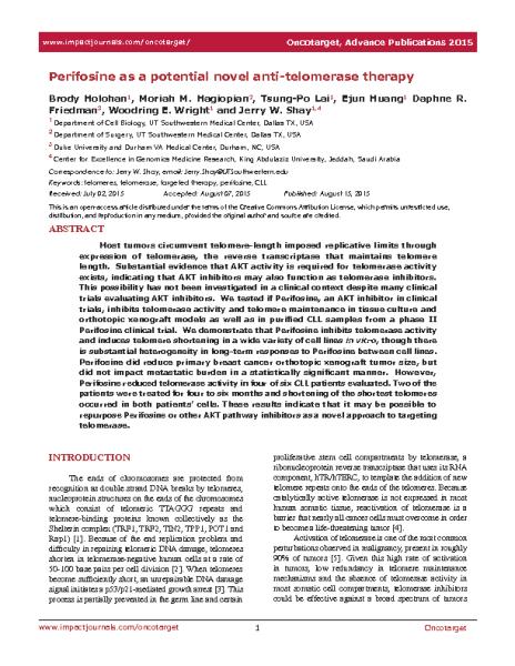 Perifosine_anti-telomerase.J_Shay.Oncotarget__2015