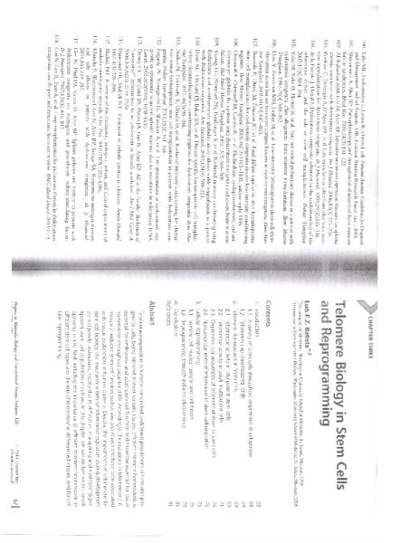 Progress in Molecular Biology_Telomeres in Health and Disease_C