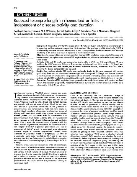 Reduced_telomere_length_in_rheumatoid_arthritis.Tim_Spector.Ann_Rheum_Dis_2007