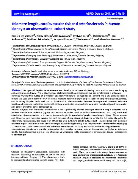 TL_CV_risk_arteriosclerosis_kidney_MaartenNaesens_AGING_Oct2015