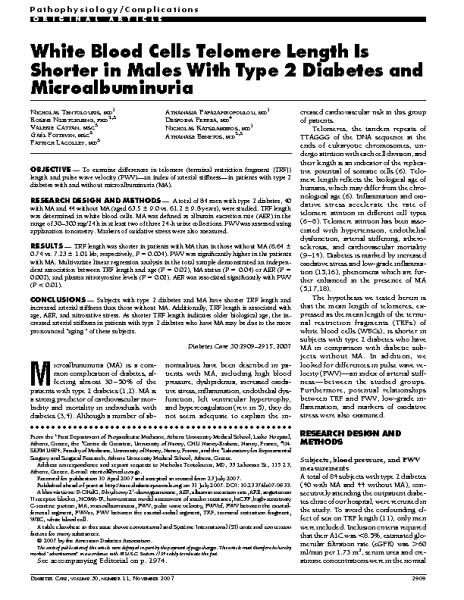 White_Blood_Cells_TL_shorter_Males_Diabetes_Type_II.Nicholas_Tentolouris.Diabetes_Care_2007